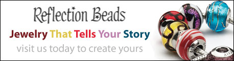 Reflection Beads | Jewelry That Tells Your Story | click here to create yours